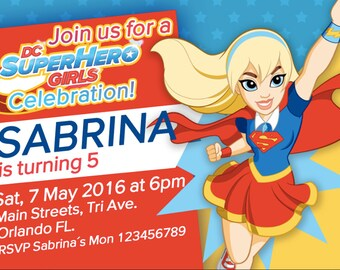 DC Super Hero Girls - SuperGirl - We deliver your order in record time!, less than 4 hour! Best Value