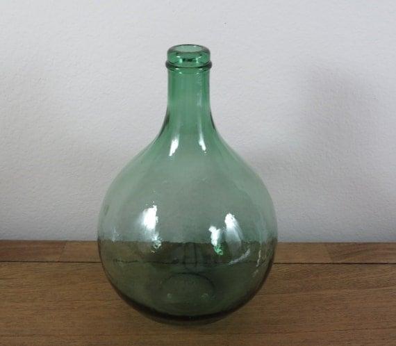 Vintage oversized wine bottles