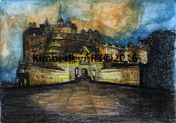 Affordable Edinburgh Castle Posters for sale at AllPosters.com