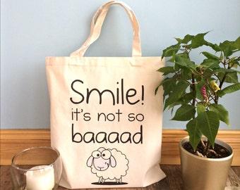 Three Bags Full Tote - Funny Tote Bag - Animal Tote Bag
