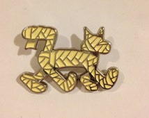 "Century The Stray ""Fresh Bandages"" Lapel Pin Mummy Cat Pin"