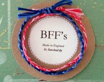 BFF's Woven Friendship Bracelet Set