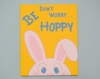 Don't Worry...Be Hoppy Painting