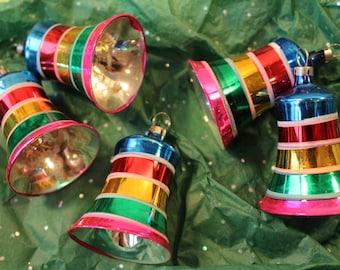 Vintage Colorful Christmas Ornaments