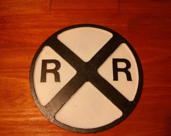 "12"" Railroad Crossing Sign"