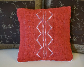 Decorative cushion cover Red