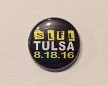 SLFL Tour 1 Inch Pinback Button Badge Concert Pin