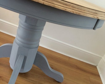 Dining Table Round French Grey