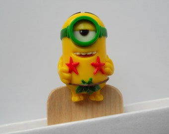 Wood Bookmarks friends minions.An unusual gift for children