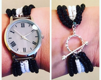 Beaded Watch