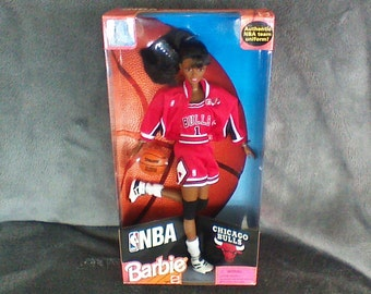 NBA Chicago Bulls Barbie, #20693, unopened
