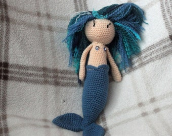 Custom crochet mermaid