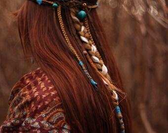Boho Hair Gypsy Hippie Hair Band