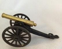 Vintage Toy Cannon, Civil War Cannon, Napoleon 12 Pounder Replica, Metal Cannon, Desk Decor, Historic  Americana, Cavalry Cannon, Miniature