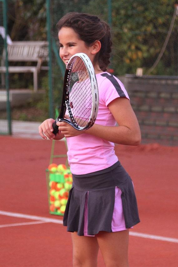 Andreea Girls Tennis Top and Pleated Tennis by ZoeAlexanderUK