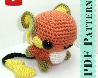 Pikachu Amigurumi Crochet Tutorial Companion Pattern