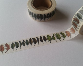 Fall leaf border Washi Tape