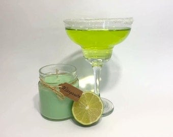 Soy Margarita candle