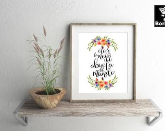 Quote stencil etsy - Decoracion dia de la madre ...