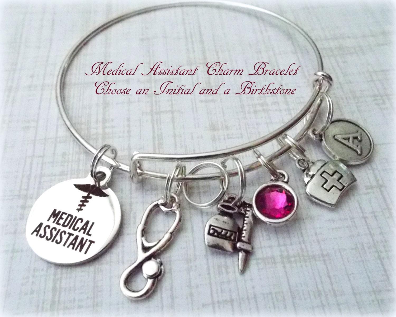 Medical assistant bracelet gift for medical assistant for Gift ideas for assistants