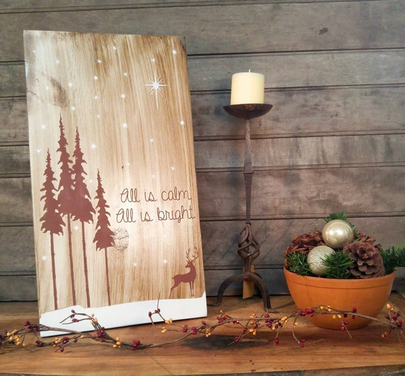 woodland home decor etsy.htm rustic holiday sign christmas sign rustic christmas  rustic holiday sign christmas sign rustic christmas