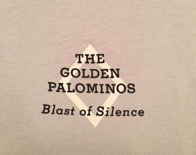 1986 Golden Palominos Blast of Silence (Axed My Baby for a Nickel) T-shirt