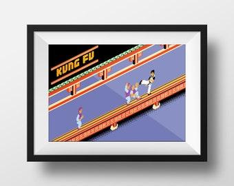 Kung Fu Classic Home screen
