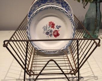 Vintage French dish rack