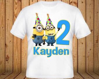 Minions Birthday Shirt