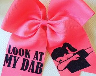 Softball Bow / Cheer Bow / Volleyball Bow / Look at my Dab