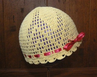 baby hats, crochet baby hats ,crochet girls hats,  crochet summer hats, crochet cotton hats