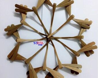 100 SELF BALANCE Natural Bamboo dragonfly -  Vietnam Craft