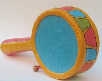 Paper Mache Hand drum