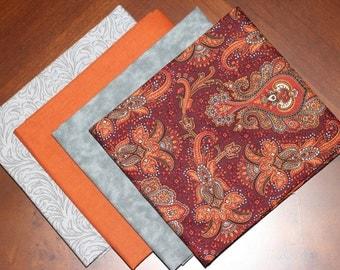 Kona Bay and Penny Rose Fabric's fat quarter combination, a 4 piece bundle.