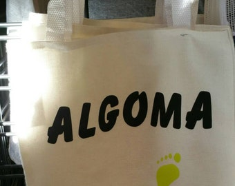 Tote: Algoma Footprints