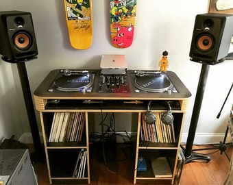 Custom DJ Table (DJ Desk / DJ Setup / Turntables)