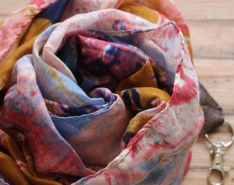 Summer Lake camera scarf