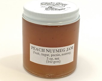 Peach Nutmeg Jam