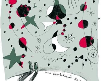 Art, painting Miró (10th anniversary)