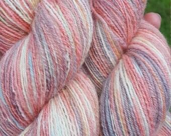 hand spun sock yarn - My Little Pony
