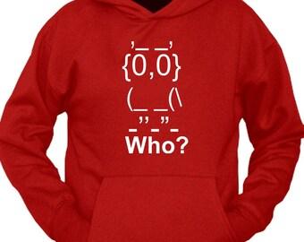 Who Owl Hoodie