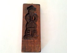 Vintage speculaas / gingerbread mold