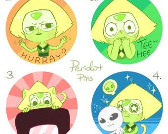 Steven Universe Peridot Pin Set