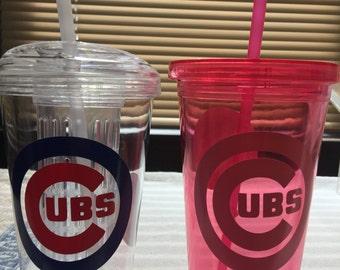 Chicago Cubs fruit infuser tumbler