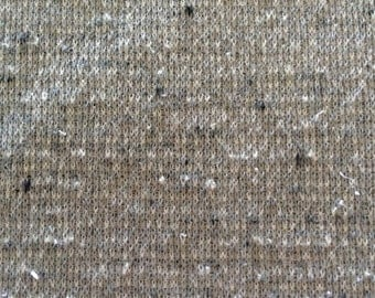 Vintage Fabric, Grey Fabric, Double Knit Fabric, Retro Fabric, Fabric, 2 and One Half Yards, 62 Inches Wide, Fabric By The Yard