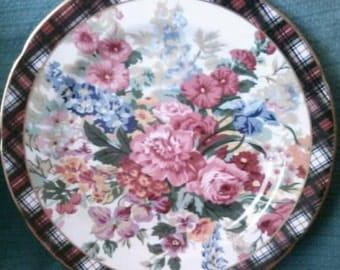 Lovely Flower Plate