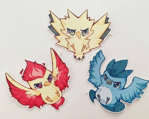 Pokemon Go Team Legendary Birds Articuno Mystic