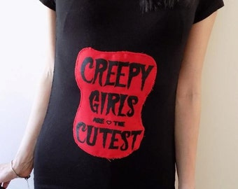 Creepy girls T-shirt/dress