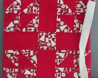 Sewing Cross Body Bag