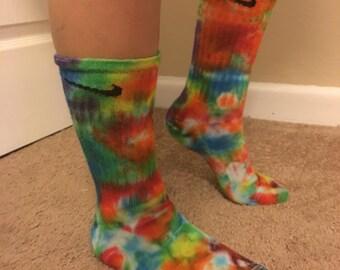 Tiedye nike socks